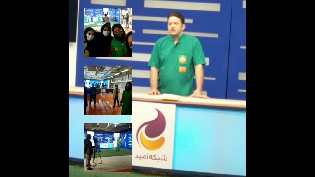 حضور ورزآرا در شبکه تلویزیونی امید